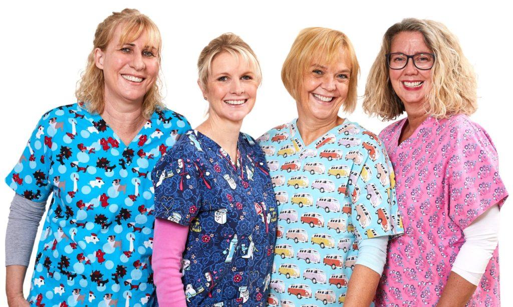 Prophylaxe Team der Zahnarzt Praxis Finkeldey in Korschenbroich